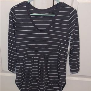2 Striped Long Sleeve Tops NWT